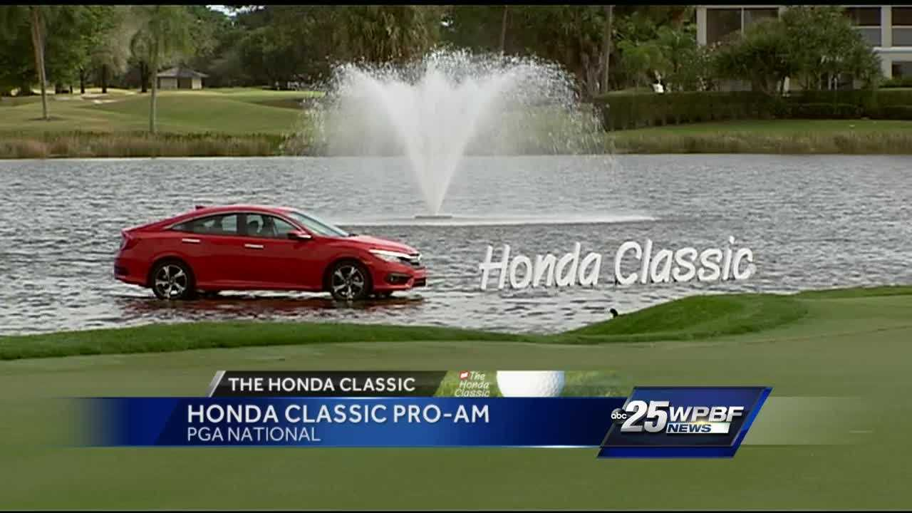 Palmer, Bryan co-leaders — Honda