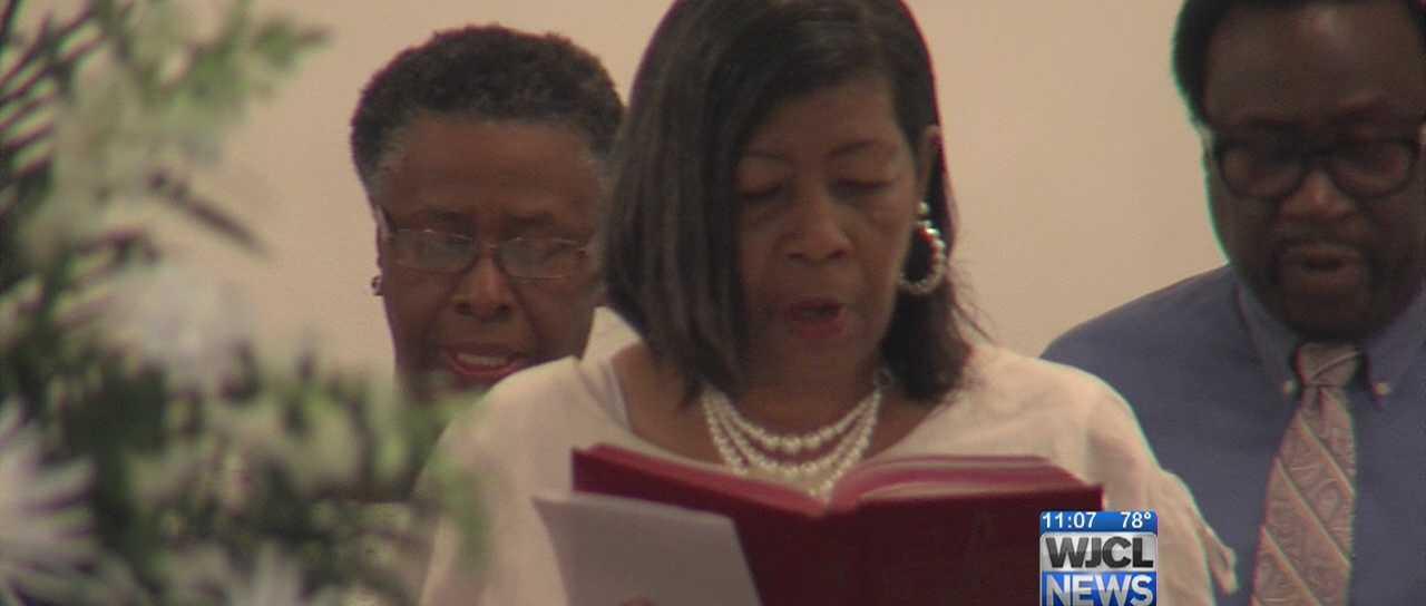 The RIdgeland community gathered Tuesday night to honor Clementa Pinckney.