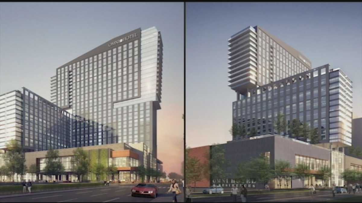 Louisville gets first look at omni hotel design for Design hotel ladys first