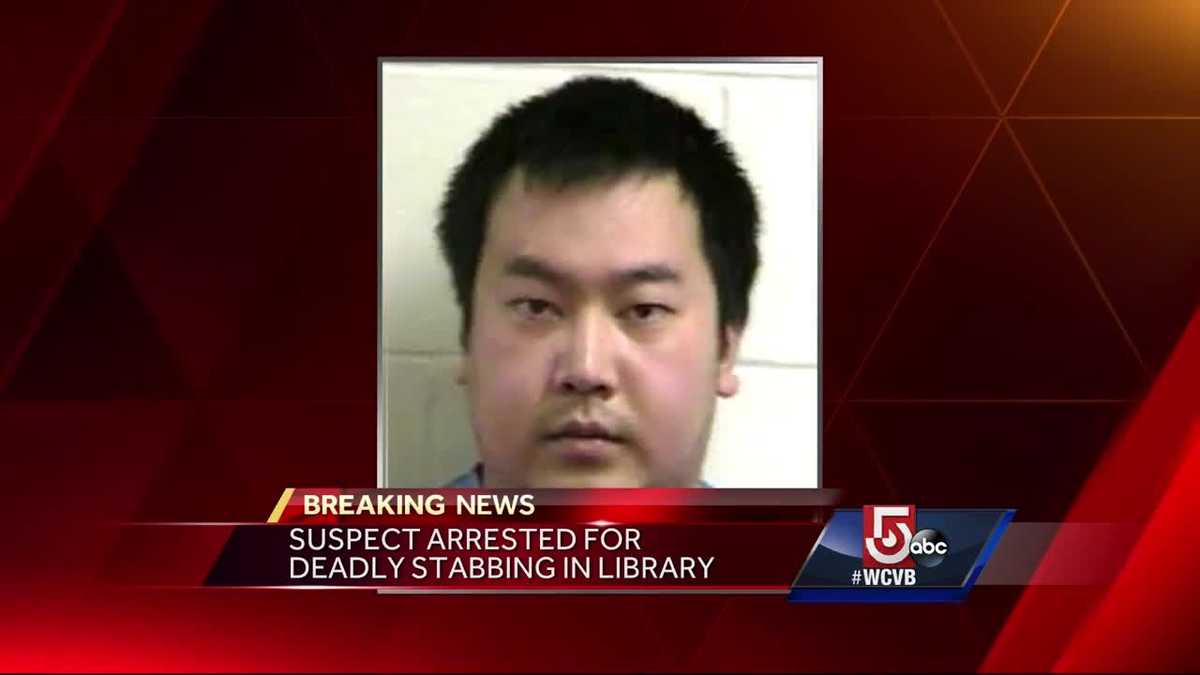Suspect arrested for deadly stabbing in library