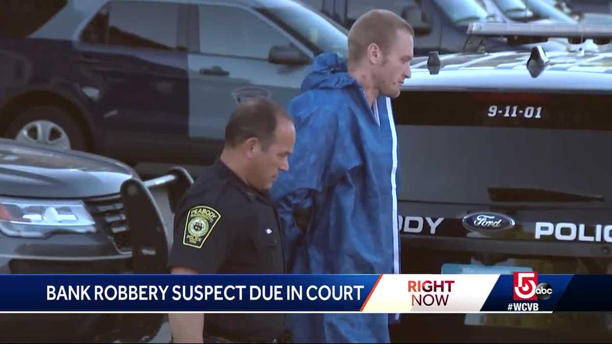 Man accused of hailing cab after bank robbery due in court
