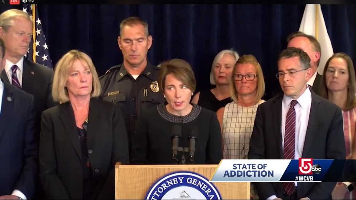 Almost 700 opioid-related deaths link to Purdue Pharma, Massachusetts AG says