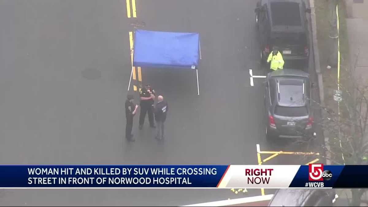 Woman hit, killed by SUV while crossing street near hospital