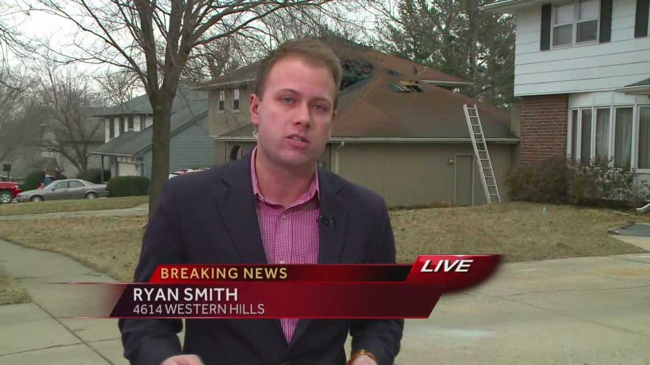 Breaking news: House fire in West Des Moines