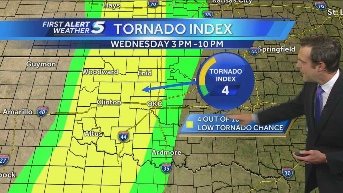 Forecast Severe Weather Possible Today