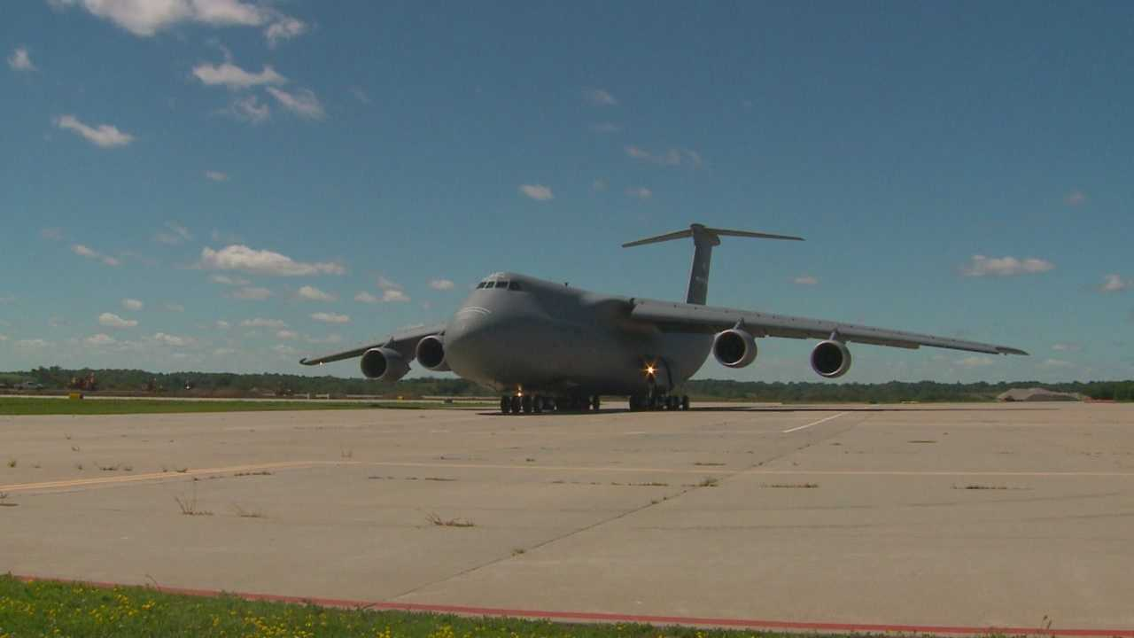 Take a look at the largest military aircraft