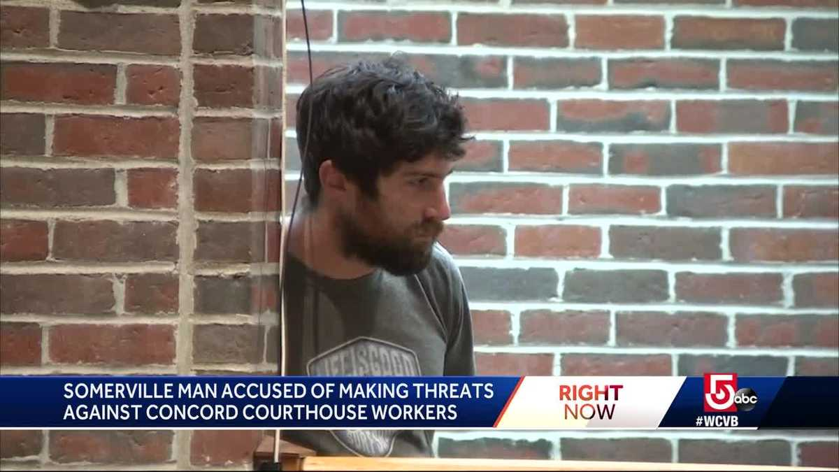 Man accused of making threats to judge, court officers