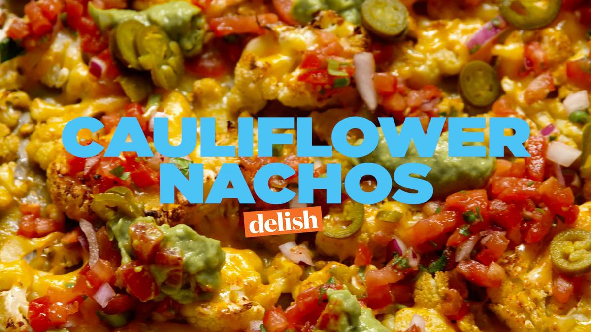 how to cut cauliflower for nachos