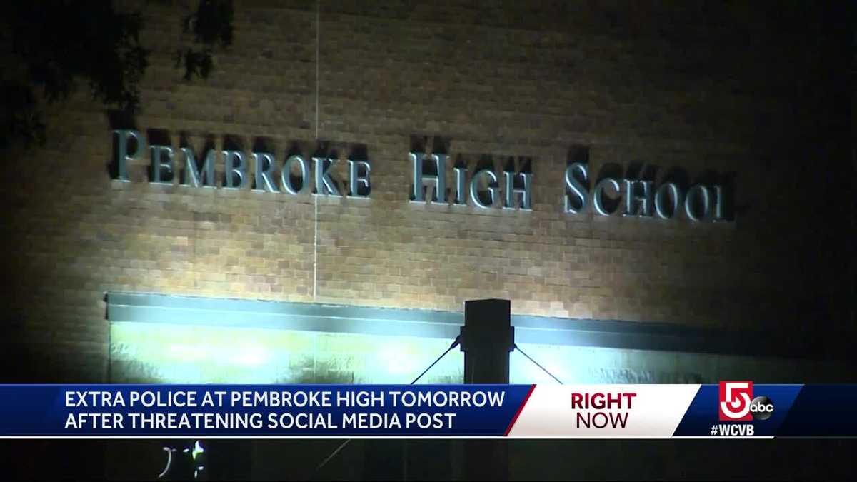 Pembroke teen accused of posting threat on Instagram