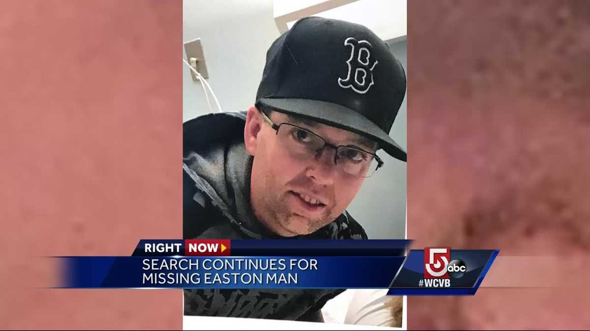 The search continues for missing Easton man