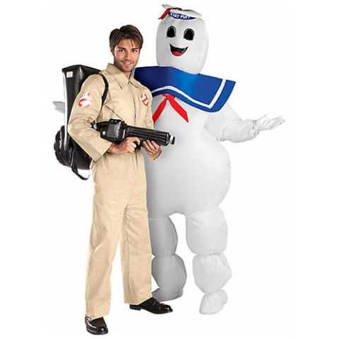 ghostbusters and stay puft halloween costumes