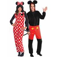 minnie and mickey mouse onesie halloween costumes