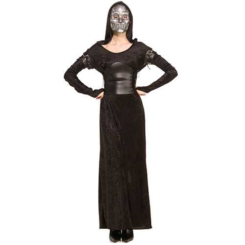 Harry Potter & The Deathly Hallows Female Death Eater Costume