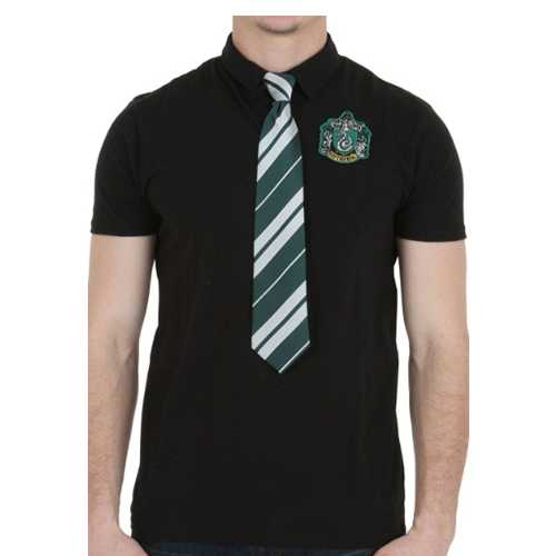 Harry Potter Slytherin Polo With Tie