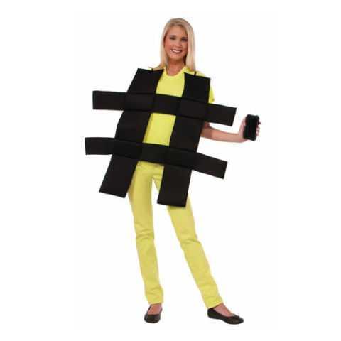 Hashtag Adult Unisex Costume