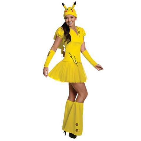 Women's Pokemon Pikachu Costume