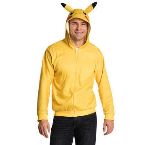 Adult Pokemon Pikachu Hoodie