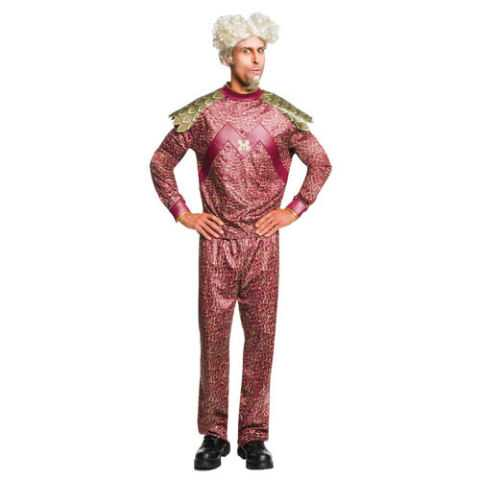 Men's Zoolander 2 Mugatu Burgundy Costume