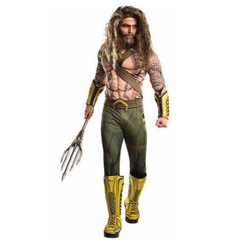 Adult Aquaman Muscle Costume - Batman v Superman: Dawn of Justice