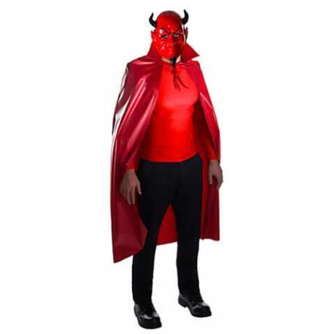 Red Devil Mask & Cape Set - Scream Queens