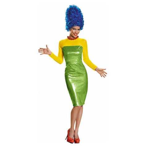 Adult Marge Simpson Costume Premium - The Simpsons