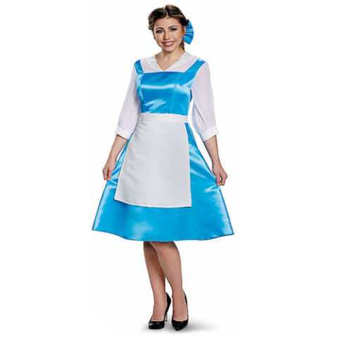 Beauty and the Beast Belle Blue Dress Costume