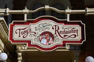 Tony's Town Square Sign