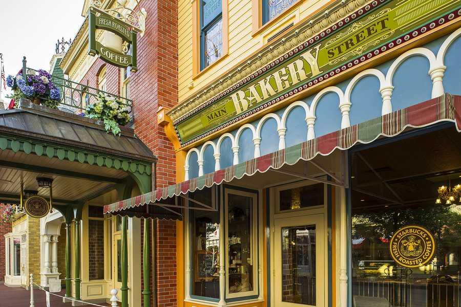 Bakery Main Street Disney World