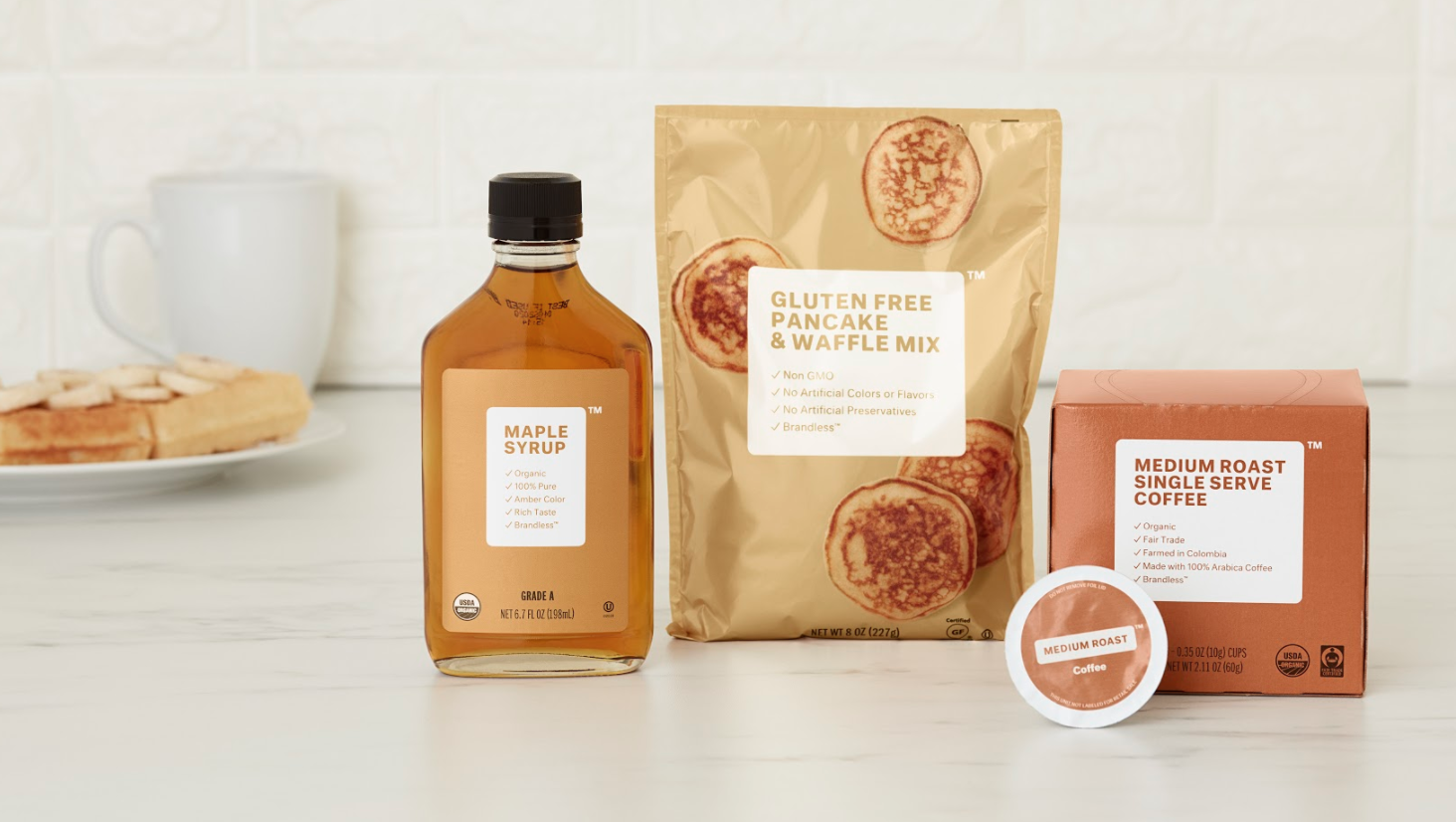 Brandless Pancake Set