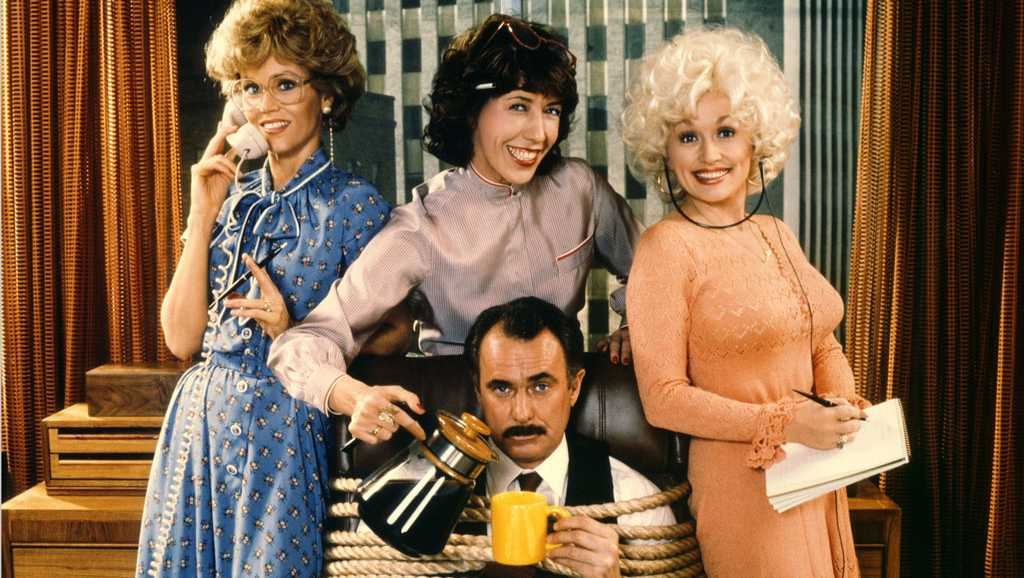 9 to 5, Lily Tomlin, Jane Fonda, Dolly Parton, Dabney Coleman
