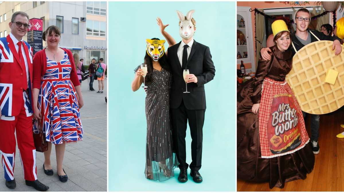 60+ Halloween Costumes for Couples 2016 - Best Ideas for Couples ...