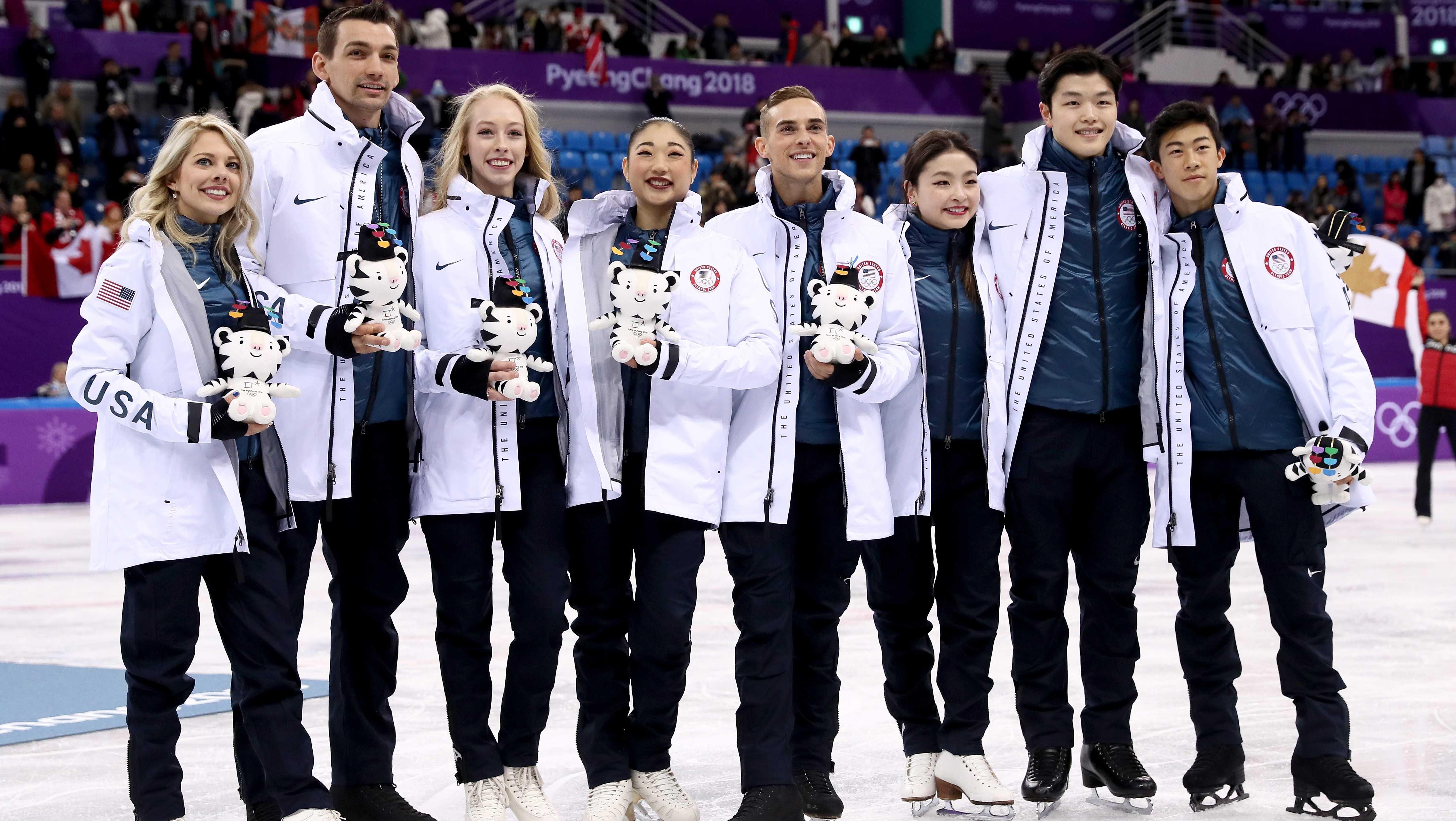 2018 winter olympics usa team figure skating