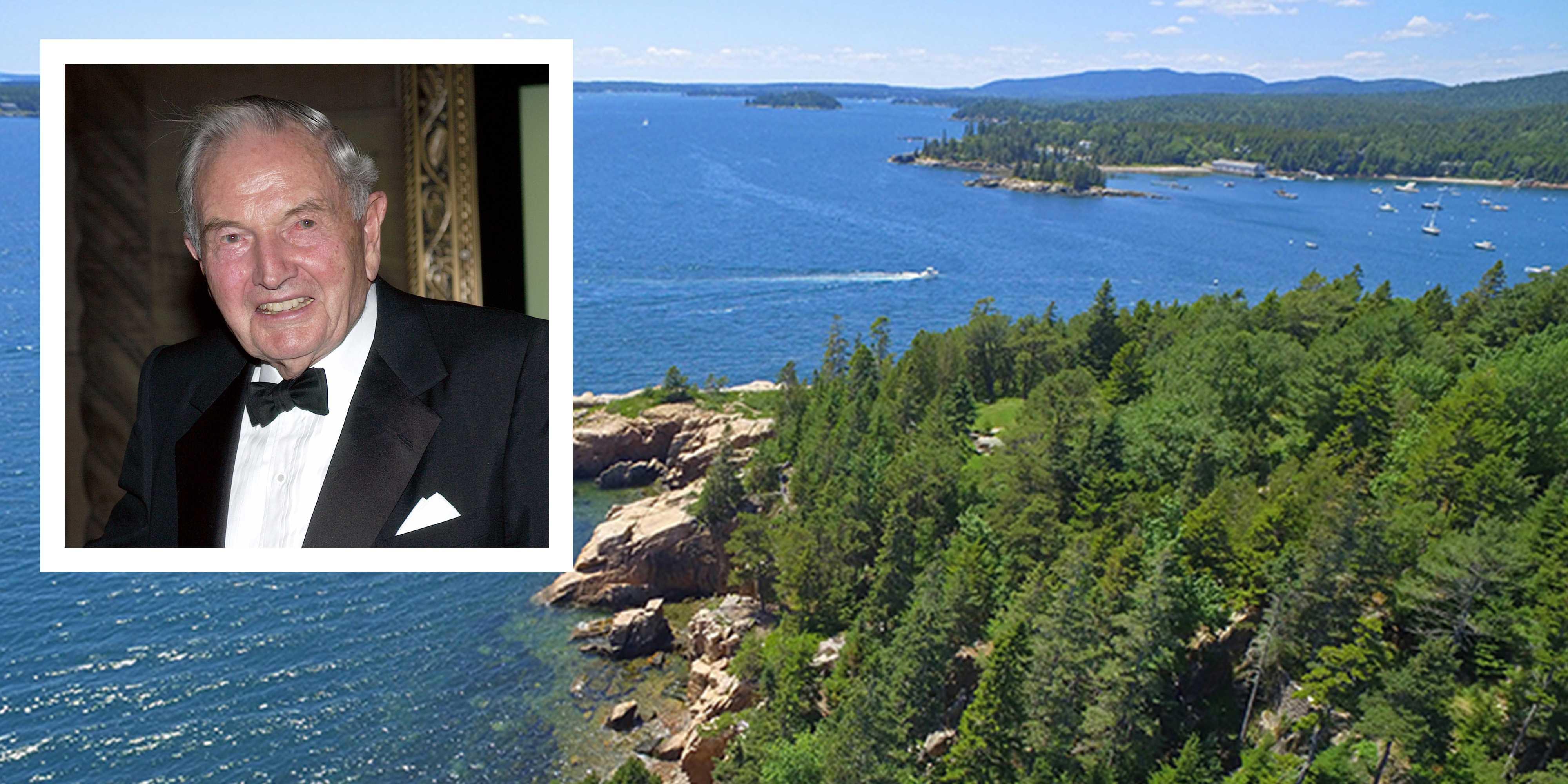 Dream House of the Week: David Rockefeller's sprawling Maine estate