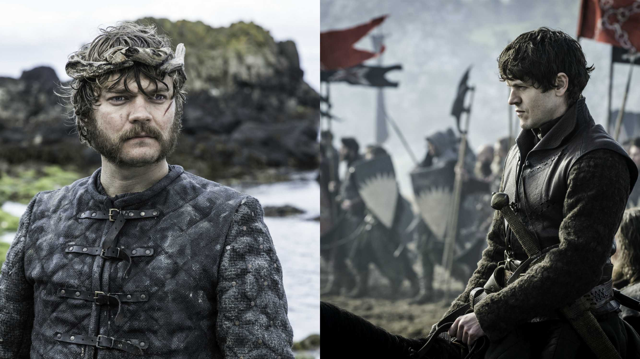 Game of Thrones villains Euron Greyjoy and Ramsay Bolton
