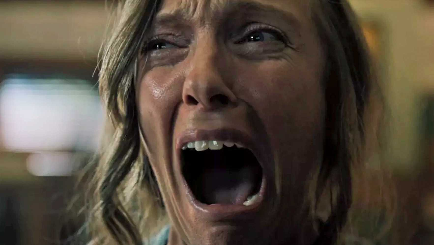 "Actress Toni Collette in the film""Hereditary,"" which comes to theaters June 8, 2018."