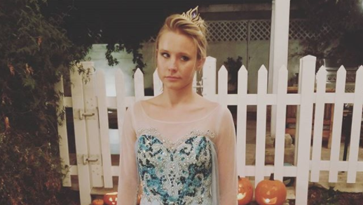 Kristen Bell's Halloween costume