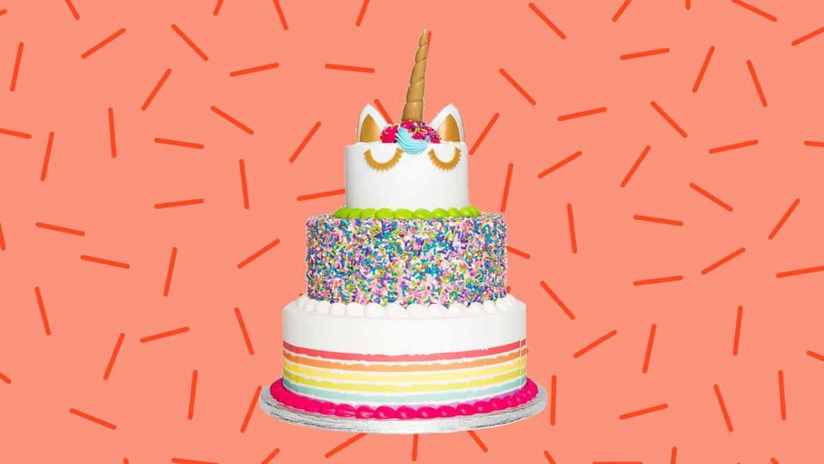 Sams Club Is Selling A Three Tier Unicorn Cake That Feeds 66 People