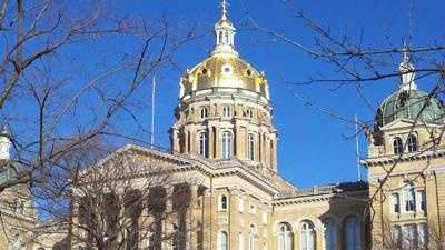 Politics - capital building Iowa statehouse generic - 30169970