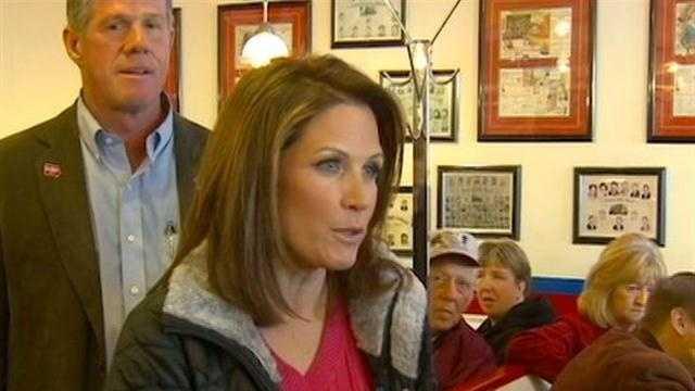 Bachmann Makes Stops Across Iowa