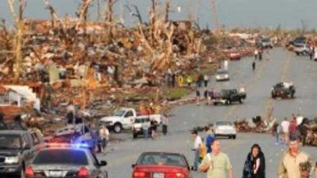 Joplin Missouri tornado damage aftermath - 28048411