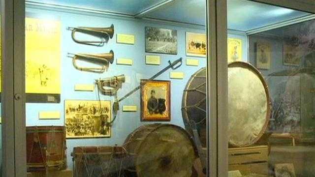 Tour New Iowa Civil War Exhibit