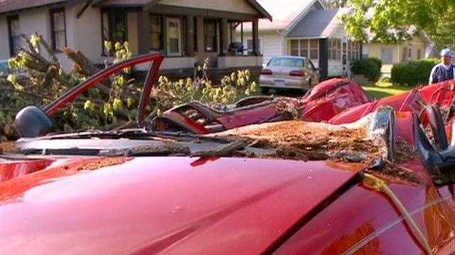 Cleanup continues across central Iowa after those strong weekend storms, but the storms hit some families harder than others.