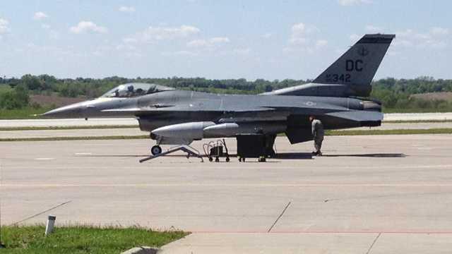 F16 arrive home