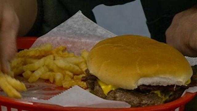 Coon Bowl wins best burger contest