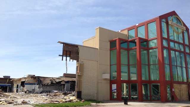 Southridge mall construction