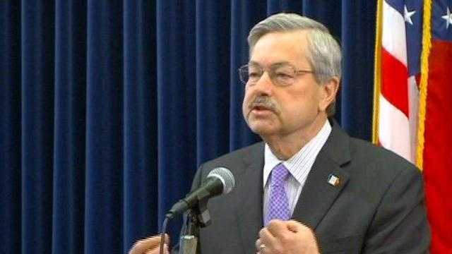Gov. Terry Branstad wrapped up the 2012 Legislative session in his weekly address on Monday.