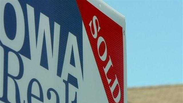 Statistics released by the Iowa Association of Realtors point to encouraging numbers from April.