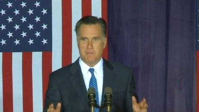 "Republican Mitt Romney says President Barack Obama's reckless spending has fanned a ""prairie fire of debt""."