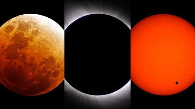 Eclipse triple play NASA