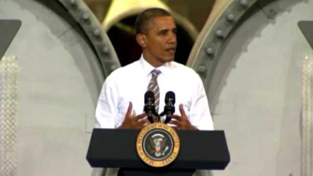 Obama speech newton